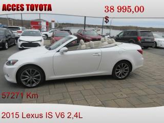 Used 2015 Lexus IS 250 C Navigation for sale in Rouyn-Noranda, QC
