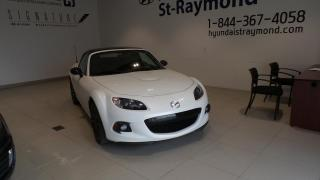 Used 2015 Mazda Miata MX-5 GS + AUTOMATIQUE + DÉCAPOTABLE + TOIT RI for sale in St-Raymond, QC