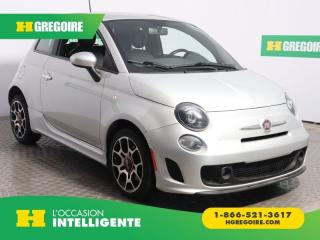Used 2013 Fiat 500 SPORT TURBO A/C CUIR for sale in St-Léonard, QC