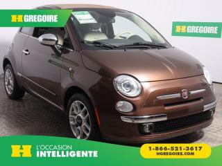 Used 2013 Fiat 500 Lounge A/c for sale in St-Léonard, QC