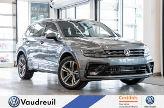 Used 2018 Volkswagen Tiguan Highline * R-LINE * FENDER for sale in Vaudreuil-Dorion, QC
