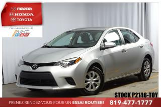 Used 2016 Toyota Corolla Ce A/c Cruise for sale in Drummondville, QC