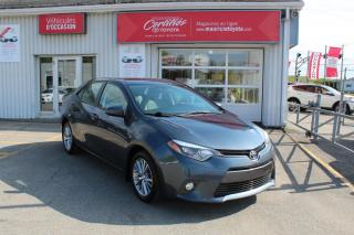 Used 2015 Toyota Corolla LE berline 4 portes CVT for sale in Shawinigan, QC