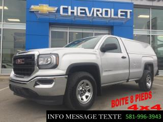Used 2016 GMC Sierra 1500 Boite 8 Pieds 4x4 for sale in Ste-Marie, QC
