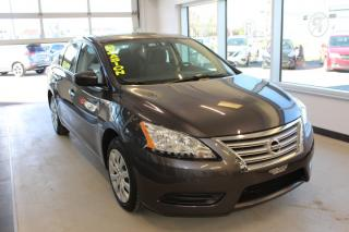 Used 2015 Nissan Sentra S CVT MAIN LIBRE CELLULAIRE for sale in Lévis, QC
