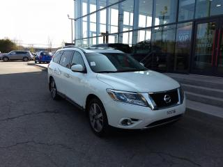 Used 2015 Nissan Pathfinder PLATINUM AWD DVD CUIR TOIT CAMÉRA GPS for sale in Lévis, QC