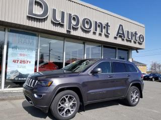 Used 2018 Jeep Grand Cherokee Édition Sterling 4x4 *Disponibilité limi for sale in Alma, QC