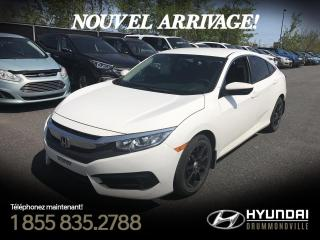 Used 2016 Honda Civic LX + GARANTIE + MAGS + CAMÉRA + BLUETOO for sale in Drummondville, QC