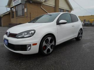 Used 2011 Volkswagen GTI GTI 2.0L Turbo 6Speed Manual 2Door Certified 150Km for sale in Rexdale, ON