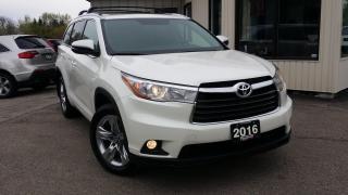 Used 2016 Toyota Highlander Limited AWD V6 for sale in Kitchener, ON