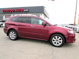 Used 2012 Subaru Tribeca 3.6L Limited Camera Bluetooth Leather Certified for sale in Milton, ON