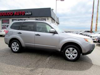 Used 2009 Subaru Forester 2.5X AWD 5 Speed Manual Convenience Pkg Certified for sale in Milton, ON