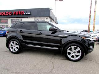 Used 2013 Land Rover Evoque Pure Plus Camera Panoramic Sunroof Certified 2YR Warranty for sale in Milton, ON