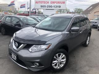 Used 2016 Nissan Rogue SV FAMILY TECH AWD 7-PASS/NAVIGATION/SUNROOF for sale in Mississauga, ON