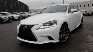 Used 2015 Lexus IS 250 F SPORT AWD RED INT GORGEOUS for sale in Toronto, ON