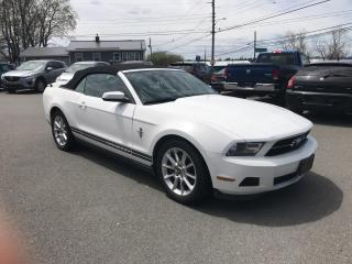 Used 2011 Ford Mustang V6 CONVERTIBLE PREMIUM for sale in Truro, NS