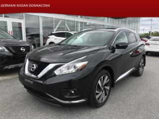 Used 2015 Nissan Murano AWD PLATINUM - SIÈGES VENTILLÉS - CAMÉRA 360 - GPS for sale in Donnacona, QC