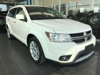 Used 2018 Dodge Journey GT, ACCIDENT FREE, POWER HEATED LEATHER SEATS, SUNROOF, KEYLESS IGNITION for sale in Edmonton, AB
