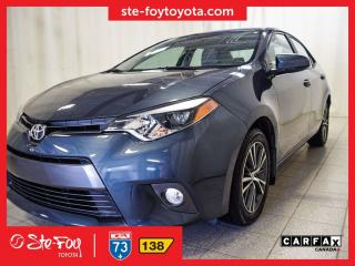 Used 2016 Toyota Corolla Le T.ouvrant, Roue for sale in Québec, QC