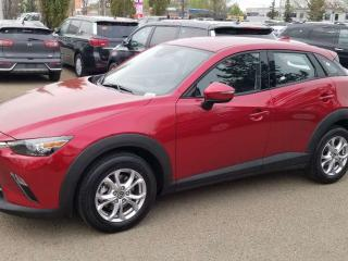 Used 2019 Mazda CX-3 GS; BLUETOOTH, BACKUP CAM, HEATED SEATS/WHEEL AND MORE for sale in Edmonton, AB
