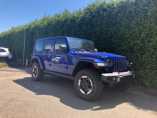 New 2019 Jeep Wrangler Unlimited Rubicon for sale in Surrey, BC