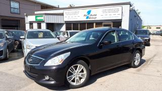 Used 2012 Infiniti G37X  Sport w/Backup Cam for sale in Etobicoke, ON