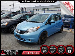 Used 2014 Nissan Versa Note SL PUSH TO START + CAMERA for sale in Blainville, QC