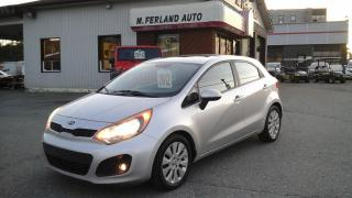Used 2012 Kia Rio Hayon 5 portes, boîte manuelle,EX for sale in Sherbrooke, QC