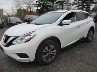 Used 2015 Nissan Murano NAVIGATION-1 OWNER OFF LEASE-HEATED SEATS for sale in Tilbury, ON