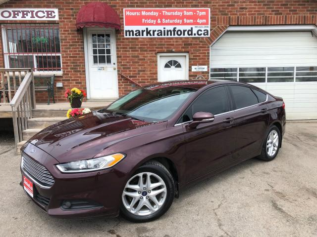 2013 Ford Fusion SE FWD Sync Sirius Bluetooth Alloys Weathertech