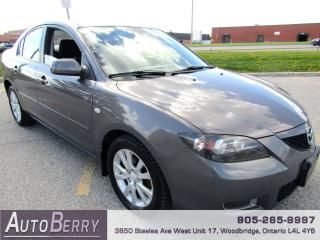 Used 2008 Mazda MAZDA3 GS - 2.0L - FWD for sale in Woodbridge, ON