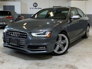 Used 2013 Audi S4 PREMIUM NAV|ACCIDENT FREE|BCK UP|BLND SPT for sale in Oakville, ON