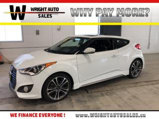 Used 2016 Hyundai Veloster Turbo|LOW MILEAGE|NAVIGATION|LEATHER|9,455 KM for sale in Cambridge, ON