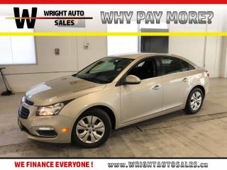 Used 2015 Chevrolet Cruze 1LT|BACKUP CAMERA||LOW MILEAGE|51,636 KMS for sale in Cambridge, ON