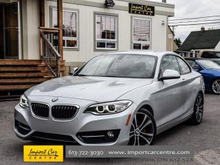 Used 2015 BMW 2 Series 228i Sport pkg 6 SPD M SUSPENSION PDC XENONS WOW!! for sale in Ottawa, ON