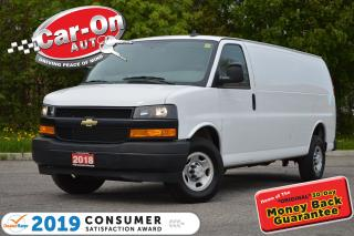 Used 2018 Chevrolet Express 2500 Cargo Extended REAR CAM A/C for sale in Ottawa, ON