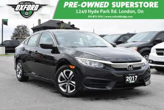 Used 2017 Honda Civic LX - for sale in London, ON