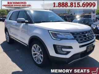 Used 2017 Ford Explorer LIMITED for sale in Richmond, BC