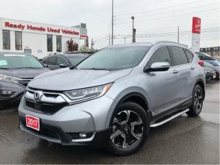 Used 2017 Honda CR-V Touring - Navigation - Leather Pano Roof for sale in Mississauga, ON