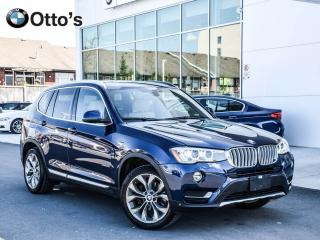 Used 2016 BMW X3 xDrive28i NAVI LEATHER ROOF for sale in Ottawa, ON