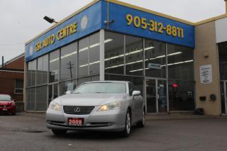 Used 2009 Lexus ES 350 Sedan | NAV | BLUETOOTH PHONE | SUNROOF | KEYLESS ENTRY | ALLOY WHEELS for sale in Hamilton, ON