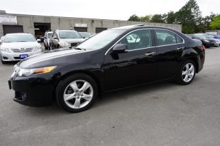 Used 2010 Acura TSX PREMIUM SEDAN AUTO CERTIFIED 2YR WARRANTY *NO ACCIDENT*2nd SET TIRES* SUNROOF for sale in Milton, ON