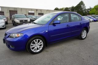 Used 2009 Mazda MAZDA3 SPORT SEDAN AUTO CERTIFIED 2YR WARRANTY *NO ACCIDENT*SERVICE RECORDS* SUNROOF for sale in Milton, ON