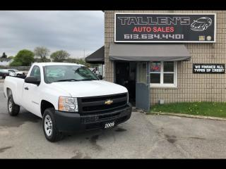 Used 2009 Chevrolet Silverado 1500 WT for sale in Kingston, ON