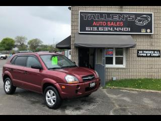 Used 2009 Hyundai Tucson GLS for sale in Kingston, ON