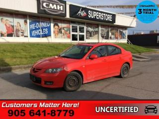 Used 2008 Mazda MAZDA3 GT  4DR SEDAN AUTO GT TRIM (AS TRADED) for sale in St. Catharines, ON