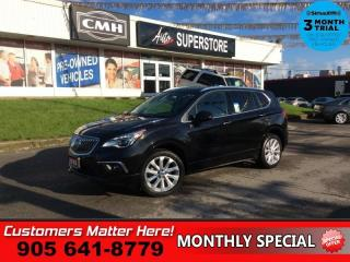 Used 2016 Buick Envision Premium II  ADAP-CC LD HUD BOSE NAV ROOF for sale in St. Catharines, ON