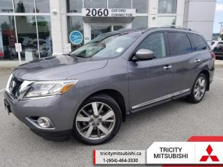 Used 2015 Nissan Pathfinder Platinum  NAVIGATION-LEATHER-SUNROOF for sale in Port Coquitlam, BC