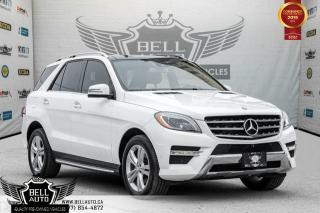 Used 2014 Mercedes-Benz M-Class ML350 BlueTEC,NAVI,PANO ROOF,360 CAM,LANE DEP,BLIND SPOT for sale in Toronto, ON