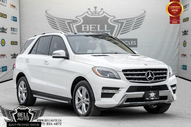 2014 Mercedes-Benz M-Class ML350 BlueTEC,NAVI,PANO ROOF,360 CAM,LANE DEP,BLIND SPOT